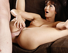 Bianca Breeze just freshened up and he wad to taste her hot wet sweet pussy before stuffing our cock inside her. She took every inch with excitement even as we unloaded all our cum deep inside her married pussy.